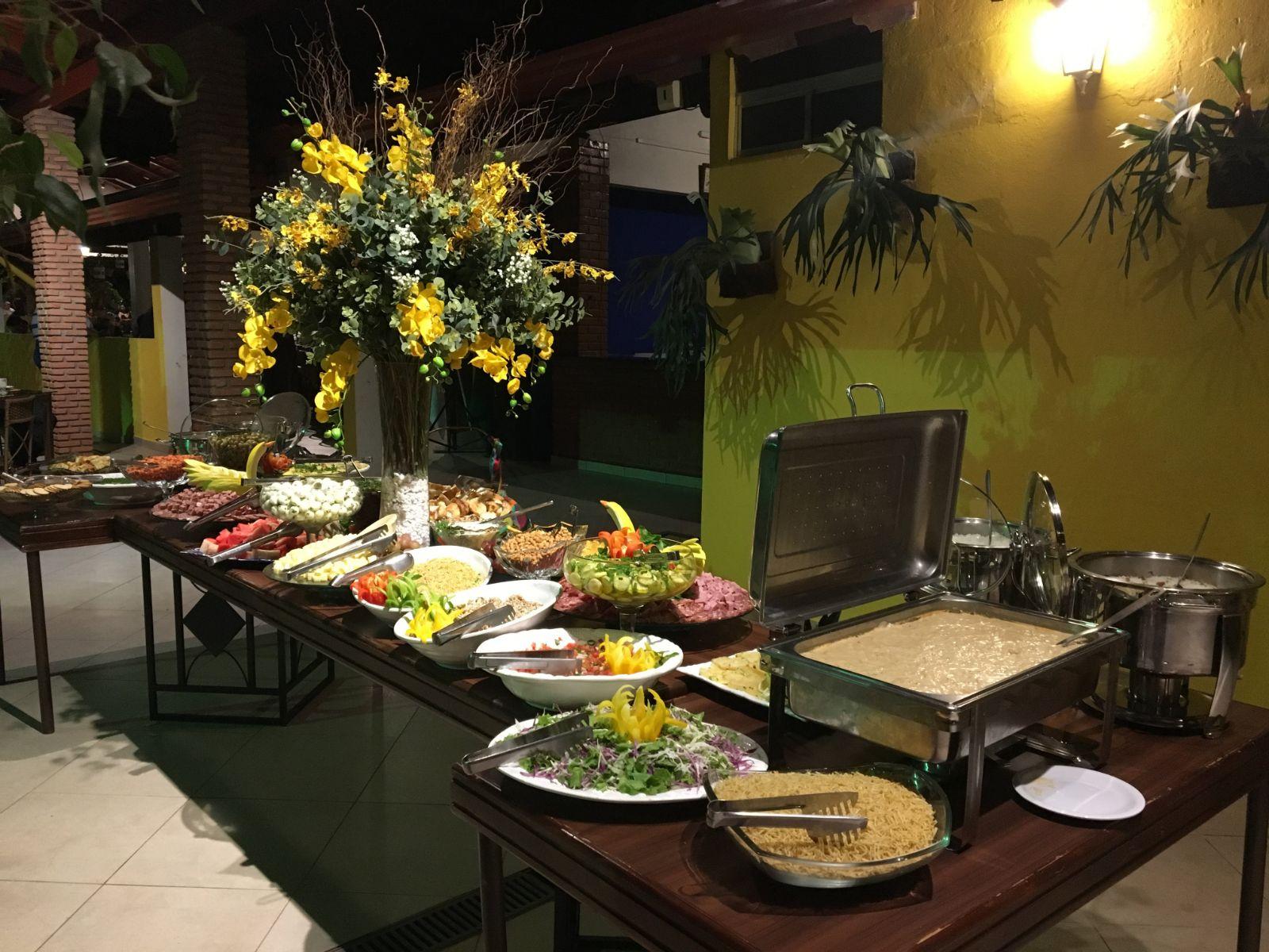 buffet em chácara